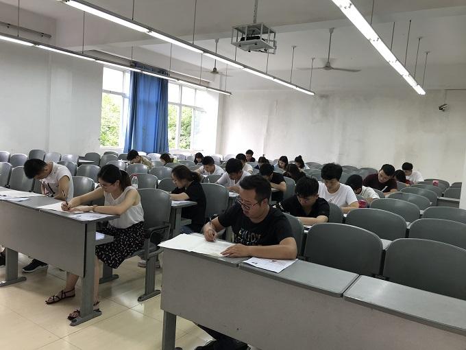 川师12博网站省考笔考现场