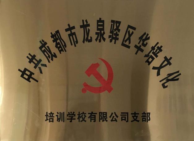 成都市龙泉驿区12bet代理文化培训学校有限公司党支部